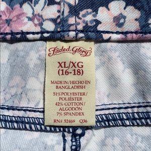 Faded Glory Pants - NWT size XL Faded Glory Capri jeggings